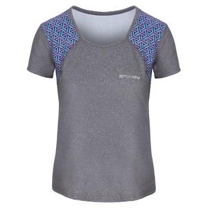 Spokey Fitness T-Shirt RAIN grey, Spokey