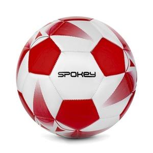 Spokey E2018 I Fußball Ball weiß/rot Grösse. 5, Spokey