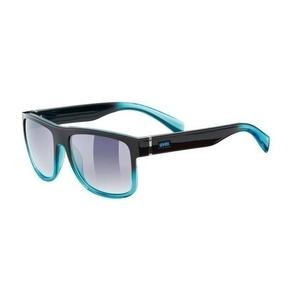 Sonnen Brille Uvex LGL 21, türkis / rauch (2416), Uvex