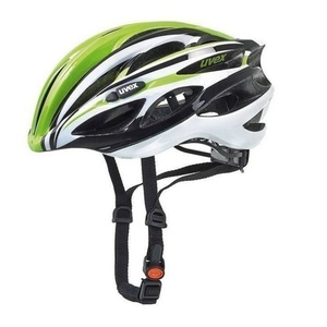 Radsport Helm Uvex 18 Race 1, grün-weiß, Uvex