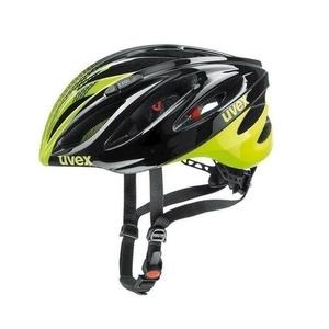 Helm Uvex Boss Race, black-neon yellow, Uvex