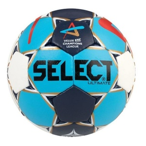 Handball Ball Select HB Ultimate Champions League Men weiß blue, Select