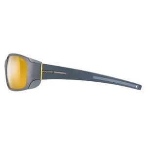 Sonnen Brille Julbo Montebianco Zebra, Dark grau / grau / gelb, Julbo