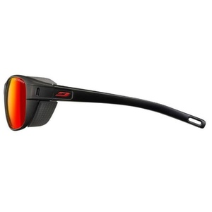 Sonnen Brille Julbo Camino Spectron 3 CF schwarz/rot, Julbo