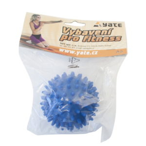 Massage- Ball Yate 90 mm blau, Yate