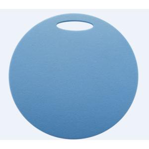 Schemel Yate rund 1 schicht Durchmesser 350 mm hell. blue, Yate