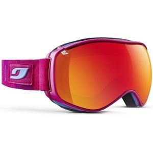Ski Brille Julbo Lüften Cat 3, Pink Fluo kaleido, Julbo