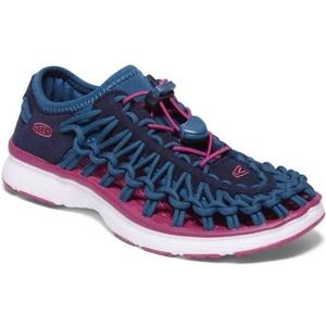 Schuhe Keen UNEEK O2 JR, Dress blues / sehr berry, Keen
