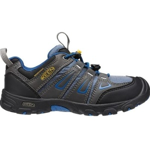 Kinder Schuhe Keen OAKRIDGE LOW WP JR, magnet / wahr blue, Keen