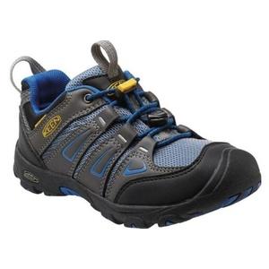 Kinder Schuhe Keen OAKRIDGE LOW WP JR, magnet / wahr blue, Keen