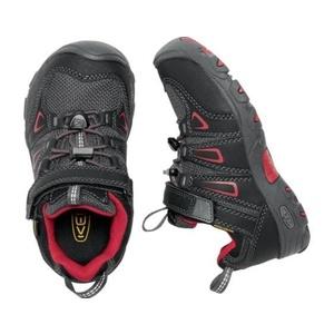 Kinder Schuhe Keen OAKRIDGE LOW WP K, schwarz / tango, Keen