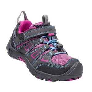 Kinder Schuhe Keen OAKRIDGE LOW WP K, magnet / sehr berry, Keen