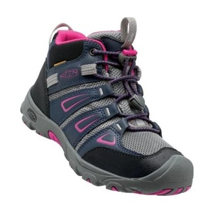 Kinder Schuhe Keen OAKRIDGE MID WP JR, Dress blues / sehr berry, Keen