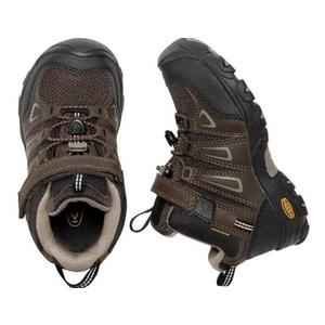 Kinder Schuhe Keen OAKRIDGE MID WP K, wasserfälle braun / gestromt, Keen