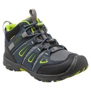 Kinder Schuhe Keen OAKRIDGE MID WP JR, mitternacht marine / ara, Keen
