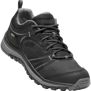 Damen Schuhe Keen Terrador Leather WP W, schwarz / stahl grey, Keen