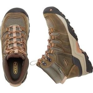 Damen Schuhe Keen Gips II MID W, kornstock / gold coral, Keen