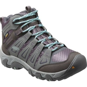 Damen Schuhe Keen Oakridge MID WP W grau / hai, Keen