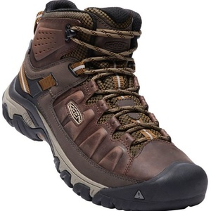 Herren Schuhe Keen Targee III MID WP M, big ben / golden Brown, Keen