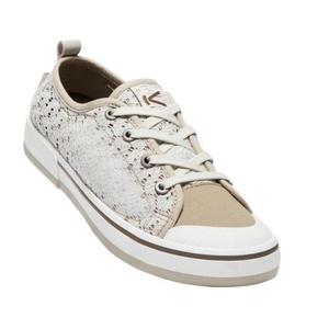 Damen Schuhe Keen Elsa II Sneaker Crochet W, Silver birke / kantine, Keen