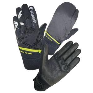 Winter Handschuhe Chiba Überschlag, black, Rogelli