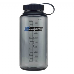 Flasche Nalgene Wide Mouth 1l 682009-0070 gray, Nalgene