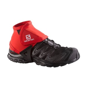 Arm-/Beinlinge Salomon TRAIL GAITERS LOW RED 38002100, Salomon