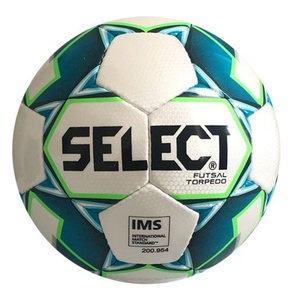 Futsal- Ball Select FB Futsal Torpedo weiß blue, Select