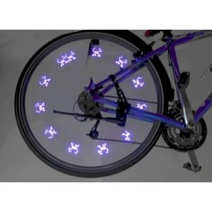 Leuchtende ventil  Fahrrad 7LED 2ks Compass Blue, Compass