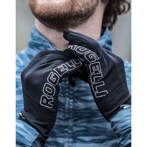 Herren Lauf Winter Handschuhe Rogelli Touch, 890.001. black, Rogelli