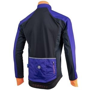 Herren Softshell Jacke Rogelli Inhalt, 003.141 blau-schwarz-orange, Rogelli