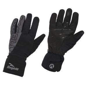 Herren Softshell Handschuhe Rogelli Flash, 006.120. black, Rogelli