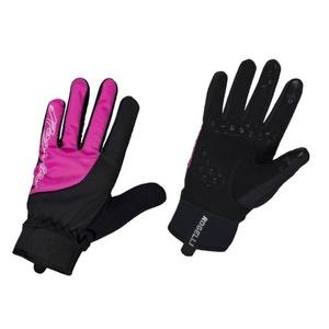 Damen Radsport Handschuhe Rogelli Storm, 010.656. schwarz und pink, Rogelli