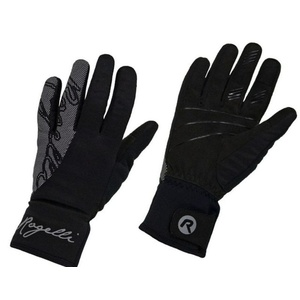 Damen Radsport Handschuhe Rogelli Flash, 010.660. black, Rogelli