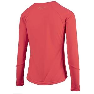 Damen Sport- funktionell T-Shirt Rogelli BASIC mit langen Ärmeln, 801.255. Pink, Rogelli