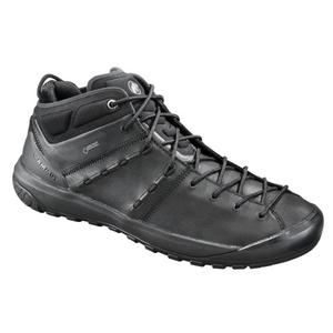 Schuhe MAMMUT Hueco fortgeschritten Mid GTX® Men, schwarz-schwarz 0052, Mammut
