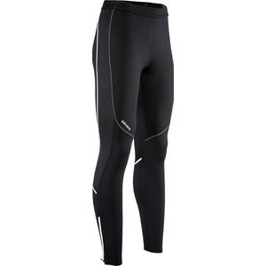 Damen elastische warm Hose mit Fahrradeinlage Silvini RUBENZA WP1315 black, Silvini