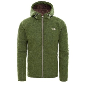 Sweatshirt The North Face M ZERMATT FULL ZIP H FOURLEAFCLVRHTR CF981LR, The North Face
