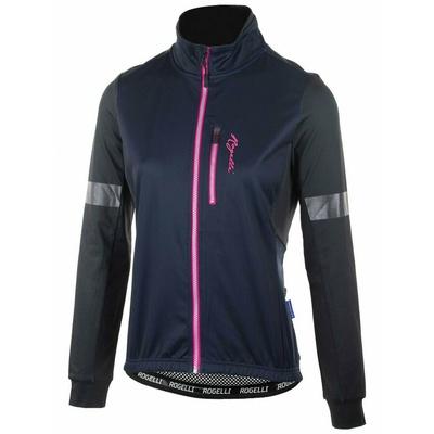 Ultraleichter Ladies Radjacke Rogelli TRANSITION ohne isolierung, blau rosa 010.316, Rogelli