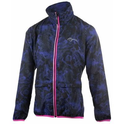 Damen Lauf Windjacke Rogelli COSMIC, schwarz-blau-pink 840.866, Rogelli