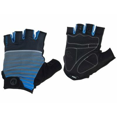 Radhandschuhe Rogelli HERO, schwarz/blau 006.962, Rogelli