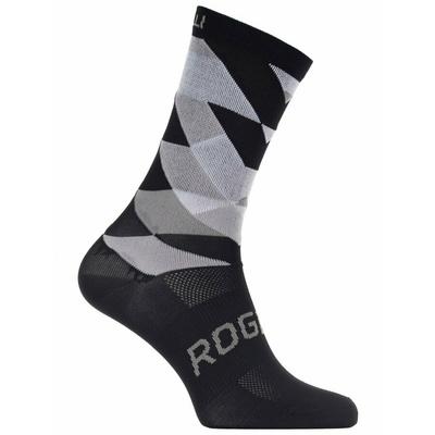 Design funktionell Socken Rogelli RAHMEN 14, schwarz und weiß 007.151, Rogelli