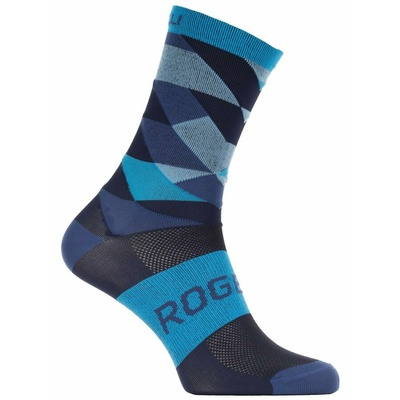 Design funktionell Socken Rogelli RAHMEN 14, blue 007.154, Rogelli