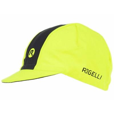 Radsport Cap unter Helm Rogelli RETRO, nachdenklich gelb/schwarz 009.967, Rogelli