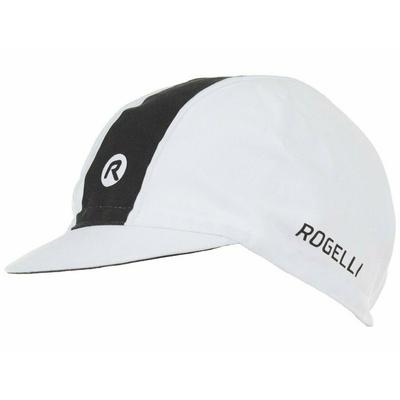 Radsport Cap unter Helm Rogelli RETRO, weiß-schwarz 009.970, Rogelli