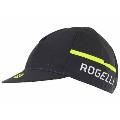 Fahrradkappe unter dem Helm Rogelli HERO, schwarz reflektierend gelb 009.971, Rogelli