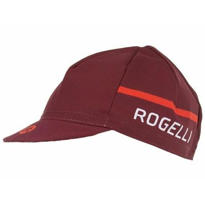 Fahrradkappe unter dem Helm Rogelli HERO, burgunderrot 009.973, Rogelli
