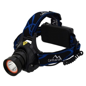 Stirnlampe Compass LED 400lm (1x XM-L+15x SMD), Compass
