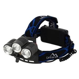 Stirnlampe Compass LED 400lm (1x XM-L+2x XP-E), Compass