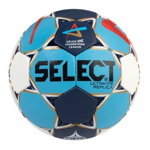 Handball Ball Select HB Ultimate Replica Champions League Men weiß blue, Select